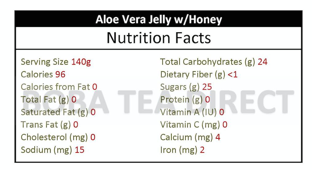 Aloe Vera Jelly (Honey Flavor)