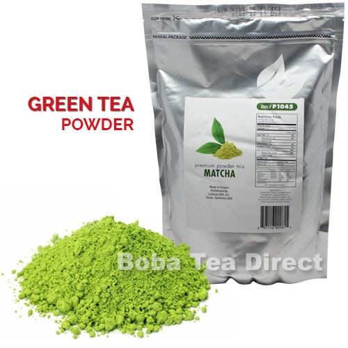How to make matcha milk tea with powder
