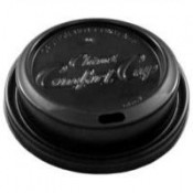 Comfort Dome Lids Black 1200/cs