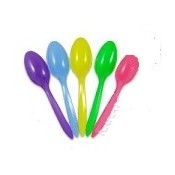 Tea Spoon, Med-Weight/White (1000 counts/case)_PP (ORANGE)