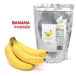 Banana Boba Tea / Bubble Tea Powder Powder